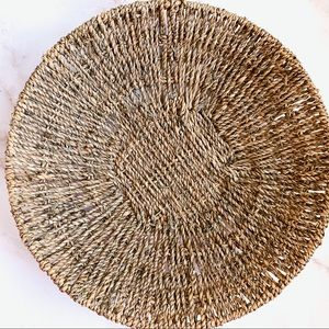 ✨Medium Natural Woven Decor Basket